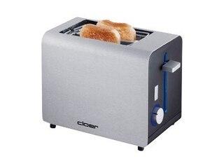 Cloer 3519 Toaster matt alu -