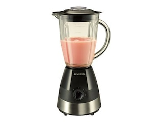 Severin SM 3718 Standmixer Black/Brushed Stainless Steel -