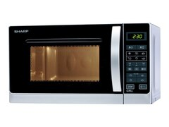 Sharp R-642INW Mikrowelle/Grill silber