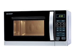 Sharp R-642INW Mikrowelle/Grill silber -