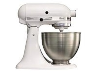 KitchenAid CLASSIC 5K45SS EWH Küchenmaschine weiss -