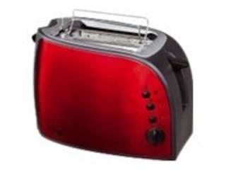 Bomann TA 1962 CB Toaster rot-schwarz -