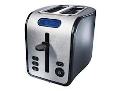 ProfiCook TA 1011 Toaster edelstahl-schwarz