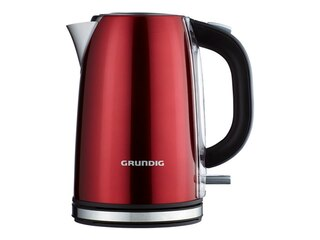 Grundig WK 6330 Red Sense Wasserkocher rot-metallic -