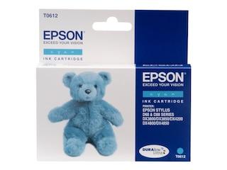 Epson Original T0612 Tintenpatrone cyan 250 Seiten 8ml (C13T06124010) -