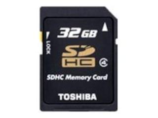 Toshiba SDHC Card Class 4 32GB (SD-K32GJ(BL5) -