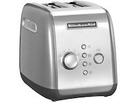 KitchenAid 5KMT221ECU Toaster silber