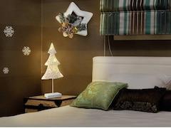 Polarlite LED-Weihnachtsdekoration Weihnachtsbaum LED LBA-51-005 Weiß