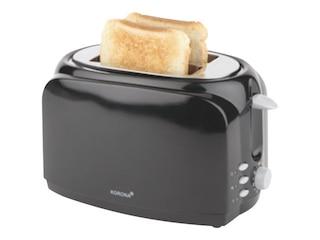 Korona 21040 Langschlitz - Toaster schwarz -