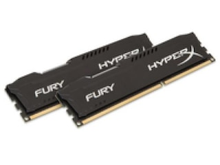 Kingston HyperX Fury Series schwarz, DDR3-1866, CL10 - 8 GB Kit -