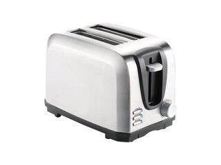 Rosenstein & Söhne Edelstahl-Toaster für 2 Scheiben (NC2765) -