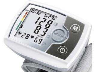 Sanitas SBM 03 Handgelenk-Blutdruckmessgerät weiß/silber -