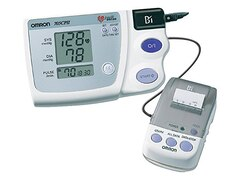 Omron 705CP II Oberarm-Blutdruckmessgerät mit Thermodrucker