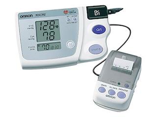 Omron 705CP II Oberarm-Blutdruckmessgerät mit Thermodrucker -