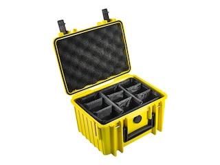 B&W Outdoor-Case Type 2000 gelb -
