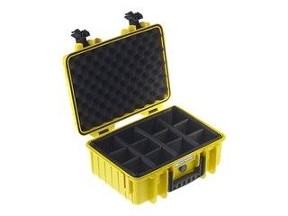 B&W Outdoor-Case Type 4000 gelb -