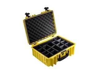B&W Outdoor-Case Type 5000 gelb -
