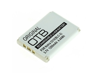 Wentronic Batterie für Mobiltelefon Li-Ion 1300 mAh für Nokia 3310, 3330, 3410, 3510, 3510i, 5510, 6650, 6800, 6810 -