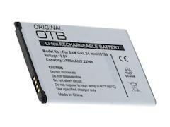 Wentronic Batterie für Mobiltelefon Li-Ion 1900 mAh für Samsung GALAXY S4 Mini