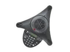Polycom analog SoundStation2 EX mit Display Schwarz