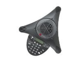 Polycom analog SoundStation2 EX mit Display Schwarz -