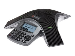 Polycom VoIP SoundStation IP 5000 Schwarz, Silber -