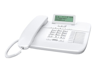 Gigaset DA710 schnurgebundenes Komfort-Telefon, Display, weiß -