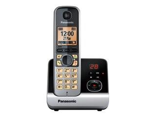 Panasonic Schnurlostelefon mit AB schwarz (5025232644896) -