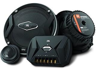JBL GTO609c 2-Wege Componenten Lautsprecher-System (270 Watt, 160mm , Paar) schwarz -