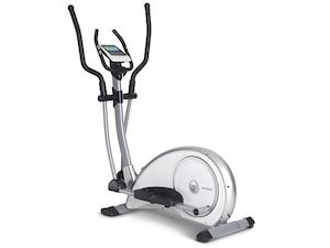 Fitness Crosstrainer Syros Pro, weiß / silber, 100690