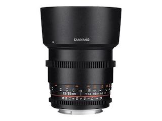 Samyang 85mm f/T1.5 VDSLR II für Micro Four Thirds Kamera -
