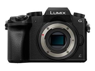 Panasonic Lumix DMC-G70 Body schwarz -
