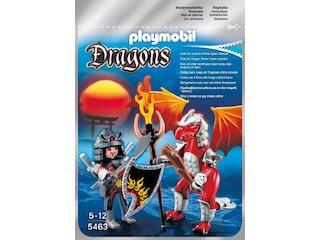 Dragons 5463 - Fire Dragon mit Kämpfer -