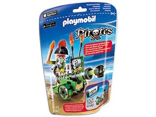 Pirates 6162 - Grüne App-Kanone mit Piratenkapitän -