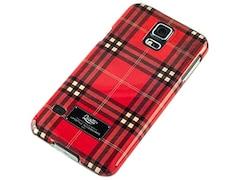 Qiotti FASHION BL RED Snap Case für Samsung Galaxy S5