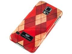Qiotti FASHION BL RED SAND Snap Case für Samsung Galaxy S5