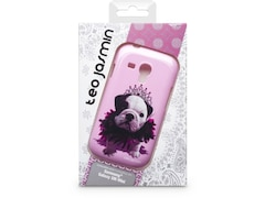 Teo Jasmin Cover Teo Queen für Galaxy S3 mini, pink
