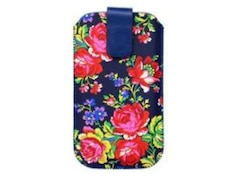Accessorize Universal Case Size L Russian Rose Navy