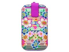 Accessorize Universal Case Size L Aztec Floral