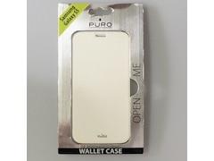 Puro Booklet Case - Booklet Wallet Collection für Samsung Galaxy S5 weiß