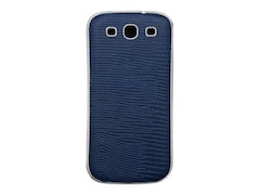 Anymode Back Case Fashion Cover für Samsung Galaxy S3 blau