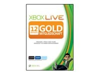 Microsoft 12 Monate Xbox Live Gold-Mitgliedschaft