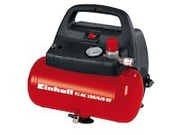 Einhell TH-AC 190/6 OF Kompressor, 1.1 kW, 6 Liter, Ansaugleistung 185 L/min, 8 bar, 1 Zylinder, ölfrei