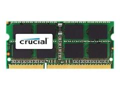 Crucial 4 GB 204-polig, DDR3-1066 MHz, SO-DIMM, CL7, 1.35 V