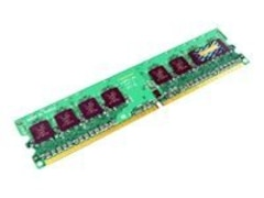 Transcend DDR2 - 1 GB - DIMM 240-PIN - 667 MHz / PC2-5300 - CL5 - 1.8 V - ungepuffert - nicht-ECC (TS1GCQ4300)