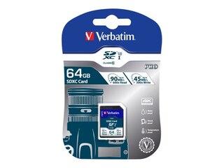 Verbatim SDXC Karte UHS-I 64GB (47022) -