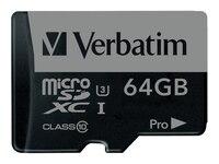 Verbatim micro SDXC Karte UHS-I Class10 64GB (47042)