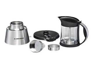 Rommelsbacher EKO376/G Espressokocher edelstahl/Glas -