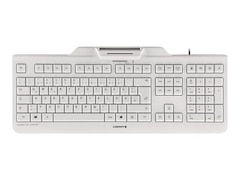 Cherry KC 1000 SC - Tastatur - Deutsch - Pale Gray (JK-A0100DE-0)