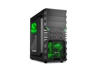Sharkoon VG4-W  Schwarz, grün  (4044951016211) -
